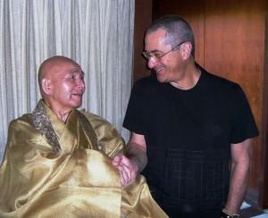 Fukushima Roshi liked to shake hands